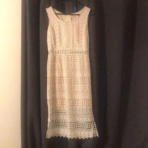 ModCloth Ivory dress